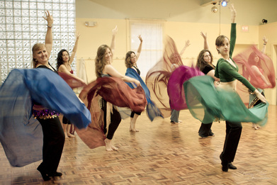 Bellydance Classes with Sahina, Photo by Huong Phan 2012