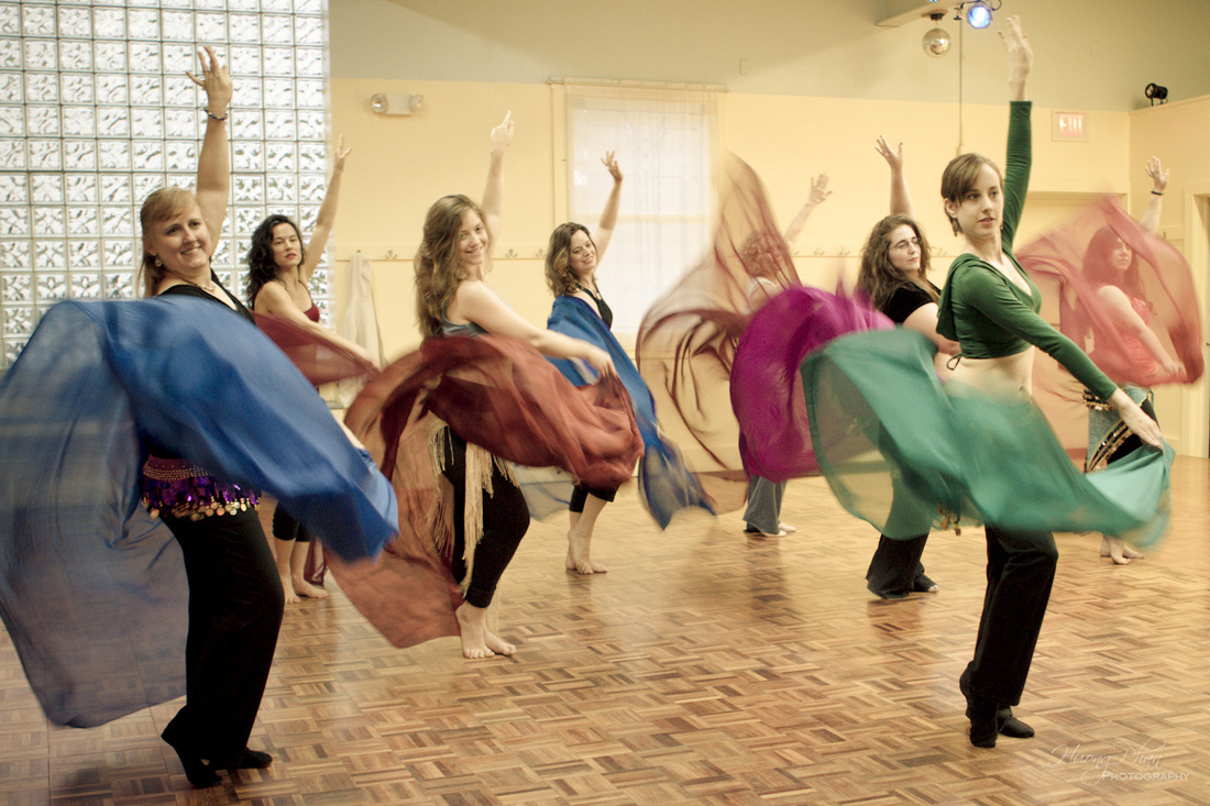 Bellydance Classes with Sahina